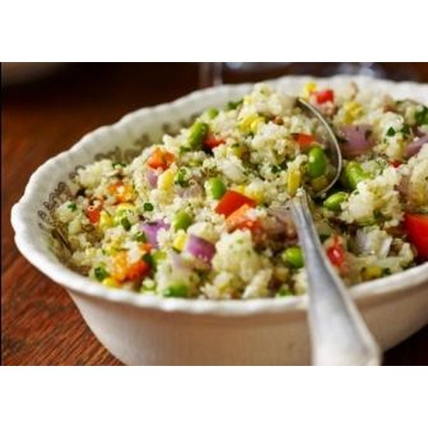 Keep it in a bowl: A quinoa salad is packed with a bunch of good stuff, and very little bad.