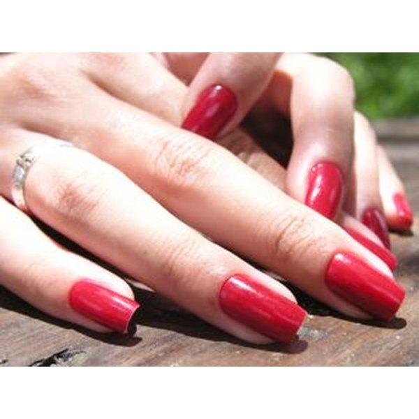 A quick-dry top coat helps prevent smudges.