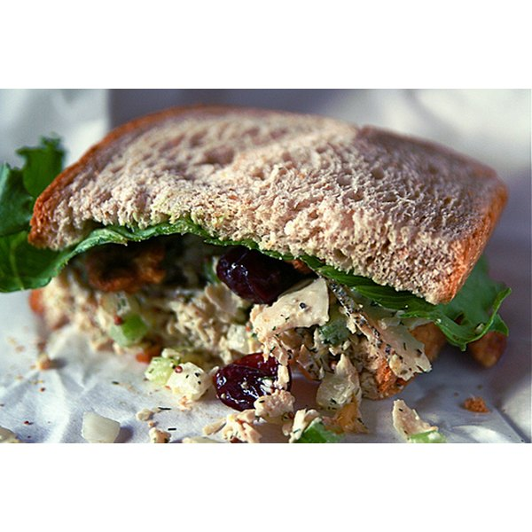 Healthful Ingredients = Nutritious Chicken Salad