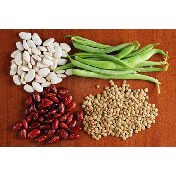 Most beans are high in protein.