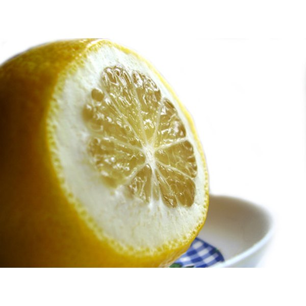 A lemon's essential oils can be used in many postive ways.