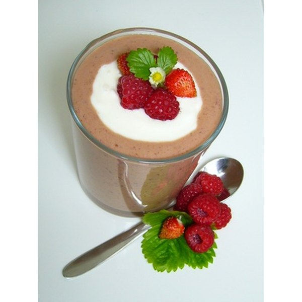 A smoothie can be customized to increase your protein intake.