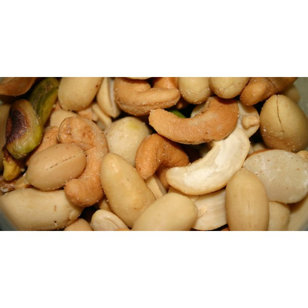 Nuts are a good dietary source of nickel.