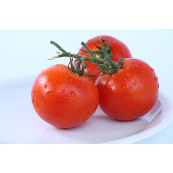 Tomatoes are a good source of prebiotics.