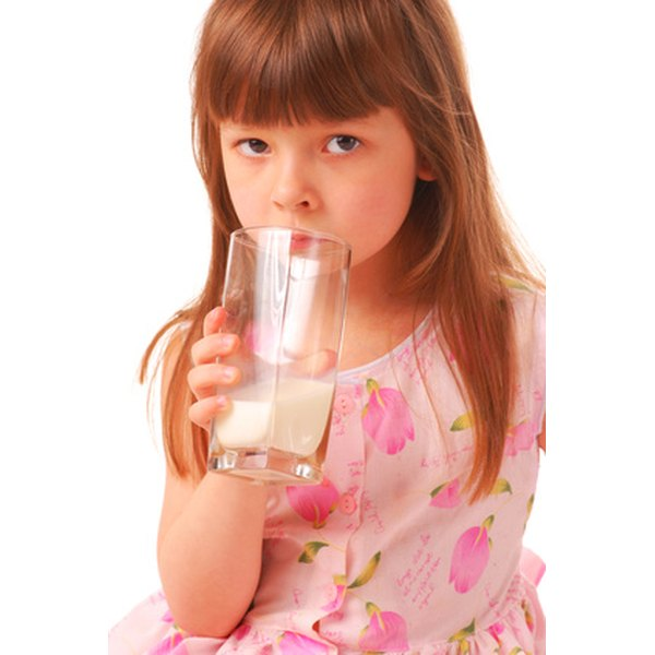 Milk is one of the most common food allergies in children.