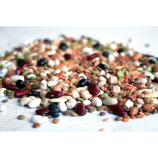 Legumes are starchy carbohydrates that are packed with dietary fiber.