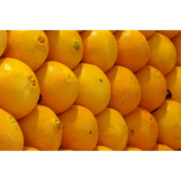 Oranges contain vitamin C, one of the most powerful antioxidants that promotes healthy skin.
