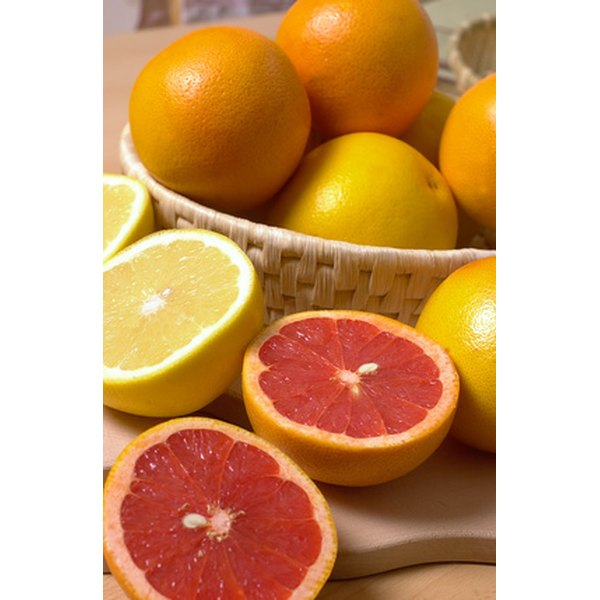 Oranges and grapefruits are among the foods that contain vitamin C.