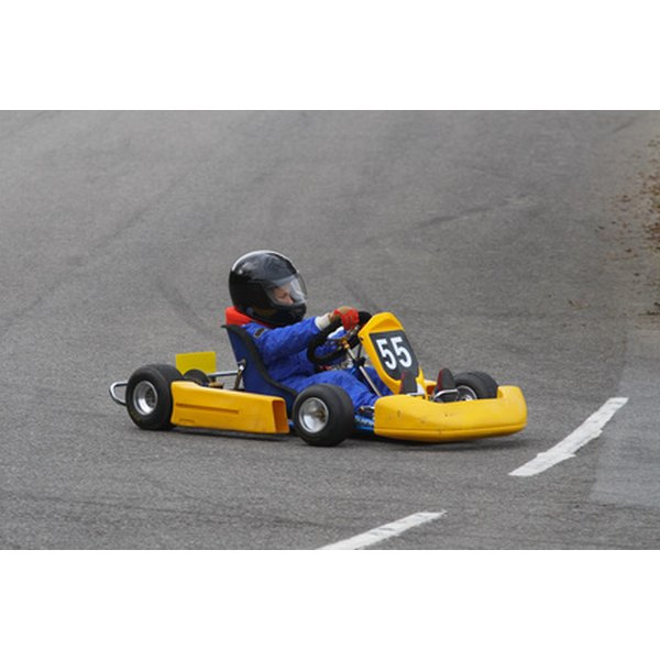 Taking Away Extra Weight Can Make A Go Kart Faster