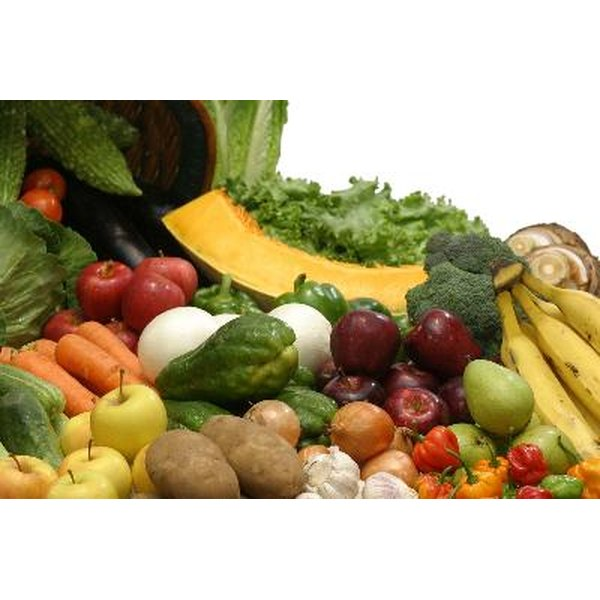 A healthy diet rich in fruits and vegetables can stave off disease and help you live longer.