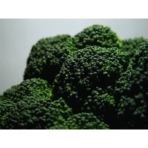 Broccoli is rich in both calcium and potassium.