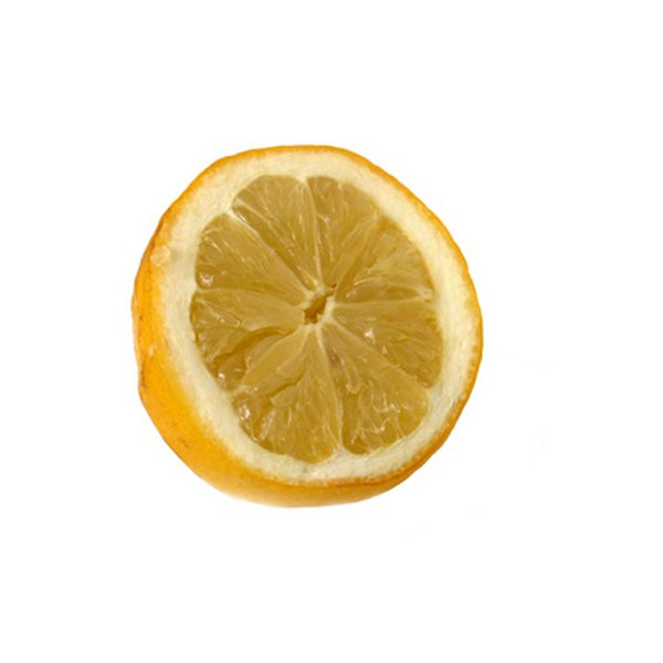 Lemon juice can effectively fade age spots.