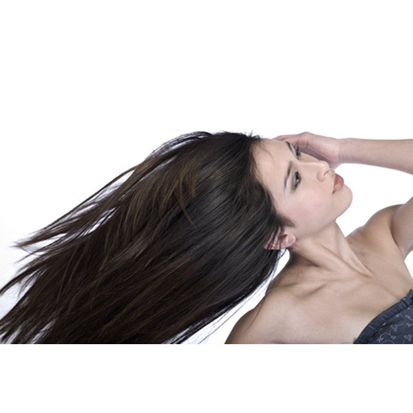 Acupuncture stimulates the flow of qi and blood improving hair growth