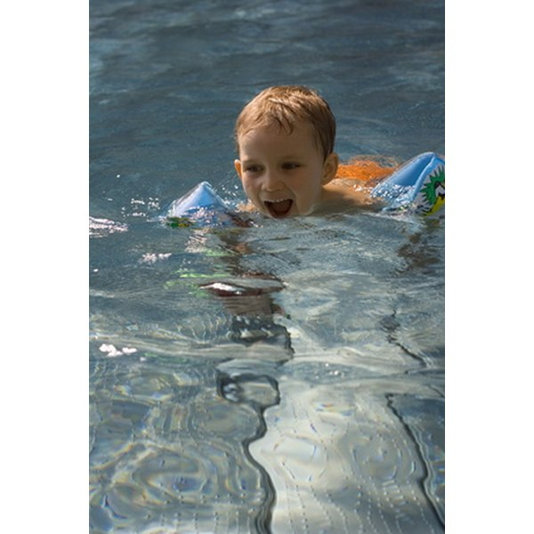 Swimming can build endurance in children.