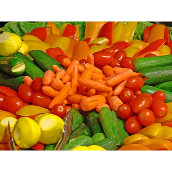 Pick a variety of colors when choosing fresh produce.