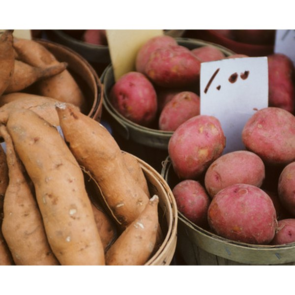 Potatoes are healthy--if they're not in the form of french fries or potato chips.