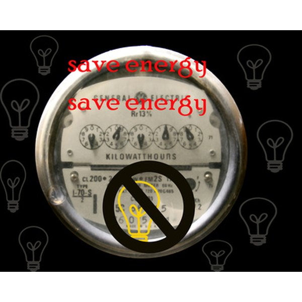 Find reasons to conserve energy to motivate you to be more conscious of your energy use.