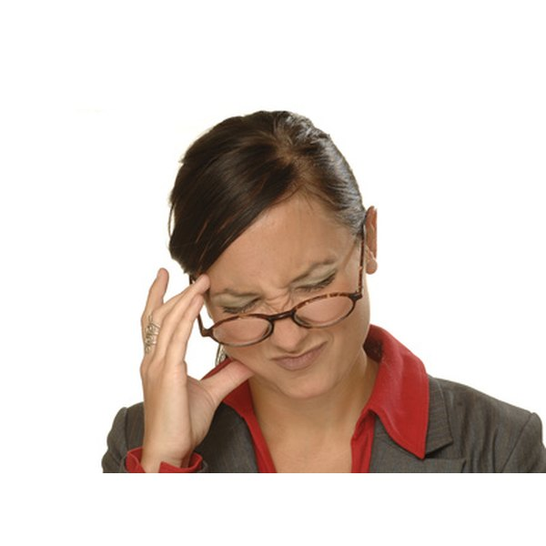Some headaches associated with allergies may affect just one side of the head.
