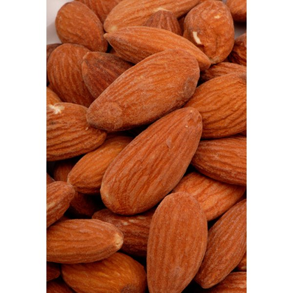 Almonds are part of a healthy diet.
