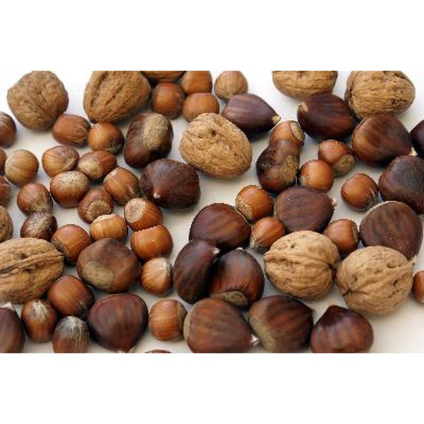 Nuts are a good source of both L-arginine and zinc.