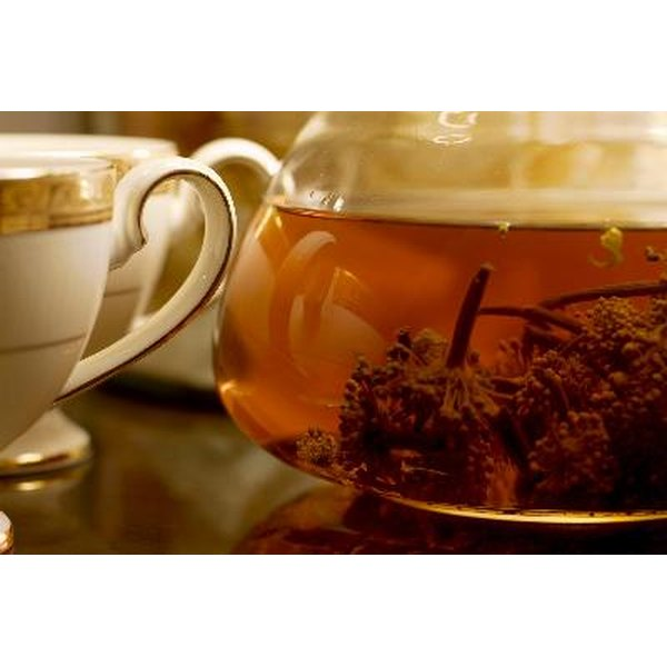 Certain herbal teas may help relieve eczema and other skin disorders.
