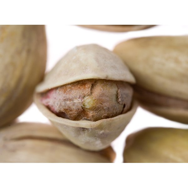 Pistachios contain a variety of types of fats, as well as vitamins and minerals.