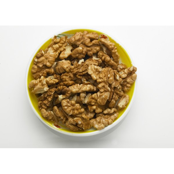Walnuts offer heart-healthy fats, along with 18 vitamins and minerals.