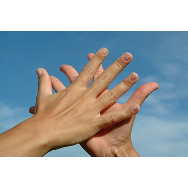 Skin on your hands can become cracked for a variety of reasons.
