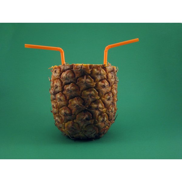 Pineapple juice is a good source of vitamins and minerals.