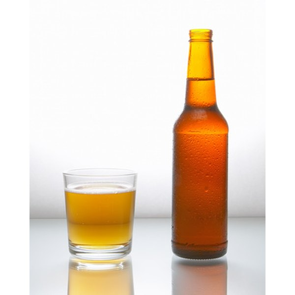 Alcoholics are often deficient in vitamin D, which can lead to osteoporosis.
