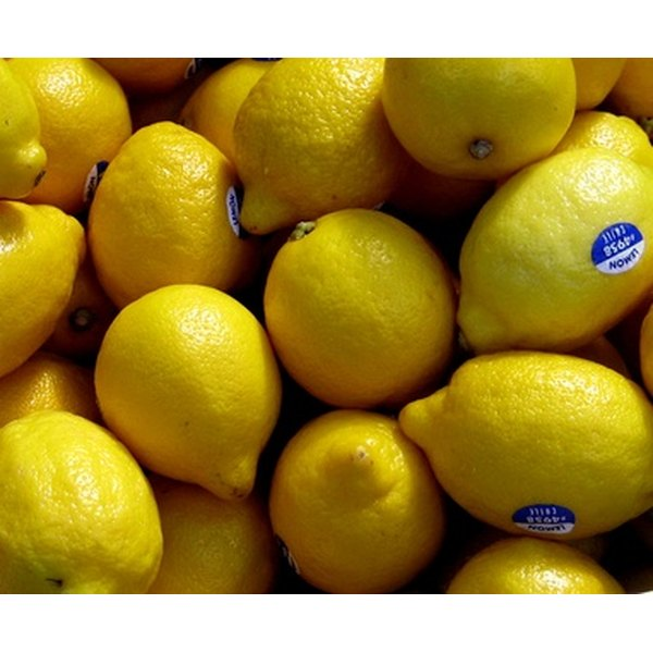 Lemons are the principal ingredient of the Master Cleanse.