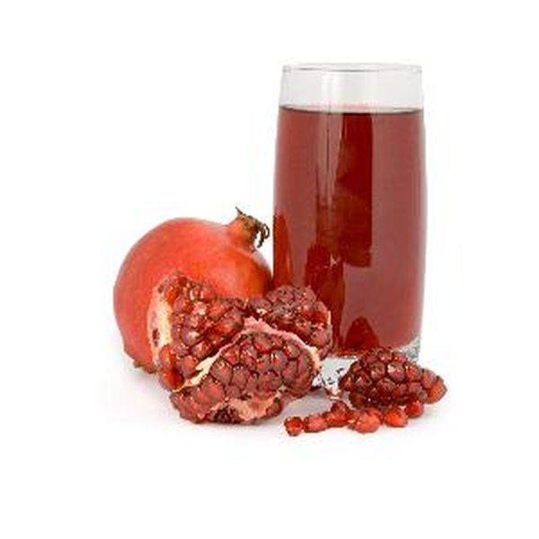 Pomegranate juice has healthy vitamins and minerals and also promotes nitric oxide production.