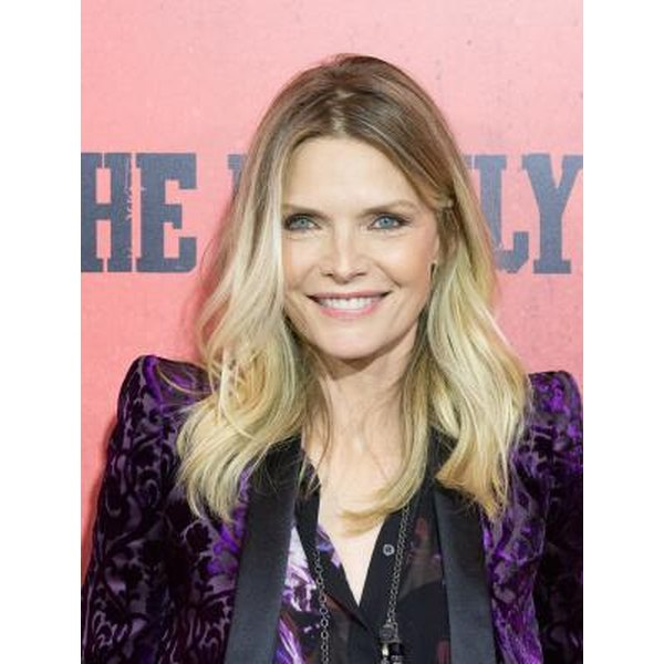 Actress Michelle Pfeiffer, born in 1958, shows that age is just a number.