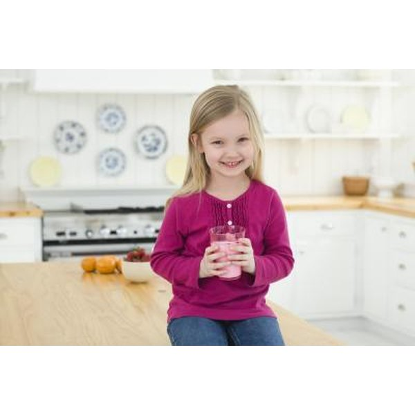 Kids love brightly colored foods and flavor varieties, and you can play up both in homemade smoothies.