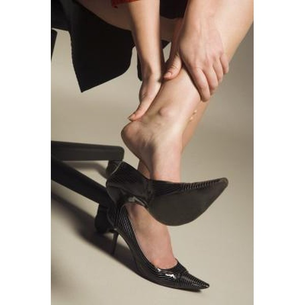 Shoes like high heels can lead to poor foot health and increase your risk of pain.