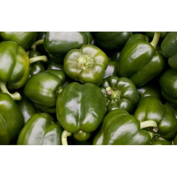 Green peppers are an incredible source of vitamin C.