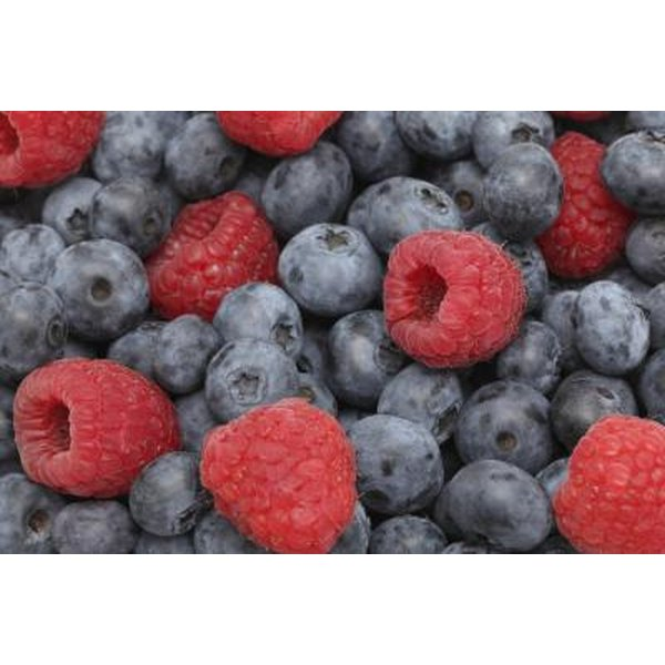 Blueberries and raspberries are rich in compounds that provide many health benefits.