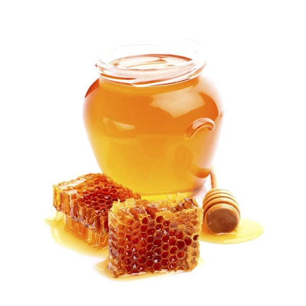 Honey is composed of quick-absorbing sugars.