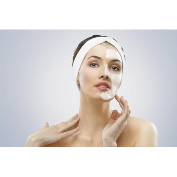 Face creams with peptides can reduce wrinkles and firm the skin.