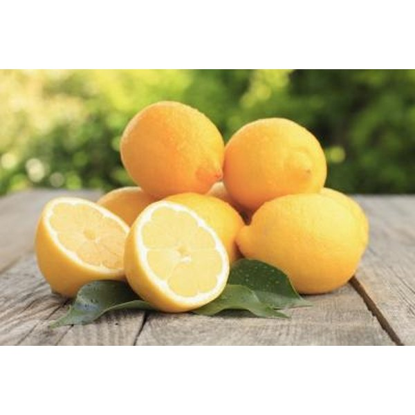 Lemons are a nutritionally multitasking fruit that can be used to brighten the skin.