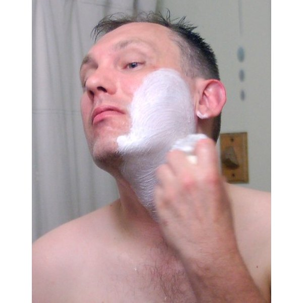 Shaving soap gives you a wetter, less irritating shave, than does shaving cream.