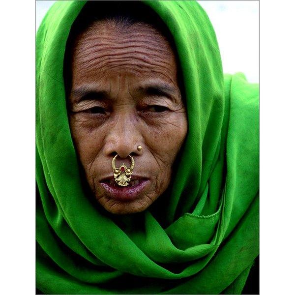 Image result for berber gold nose ring