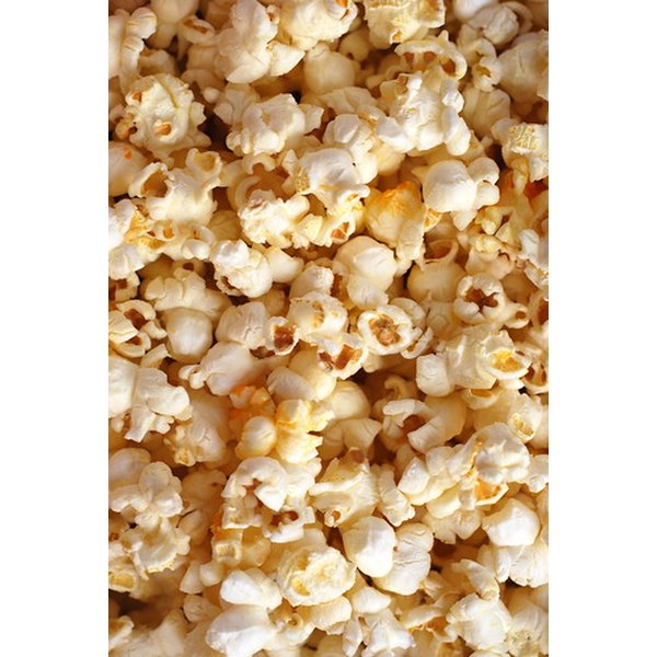 White and yellow popcorn have their own distinct tastes.
