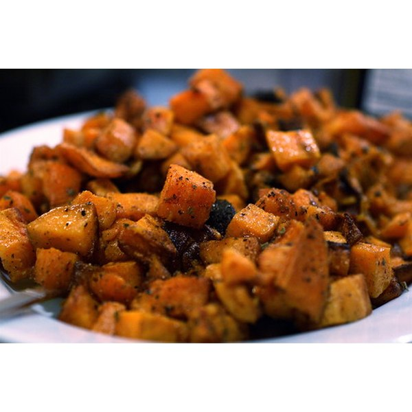 Sweet potatoes are rich in nutrients.
