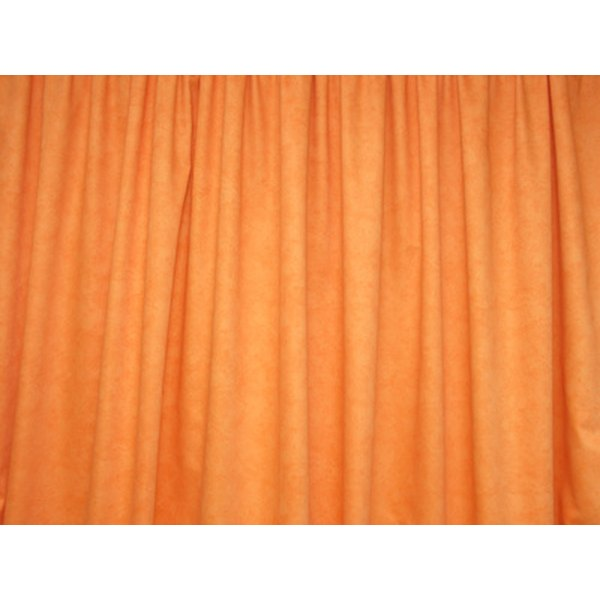 Polyester curtains and drapes are still popular.