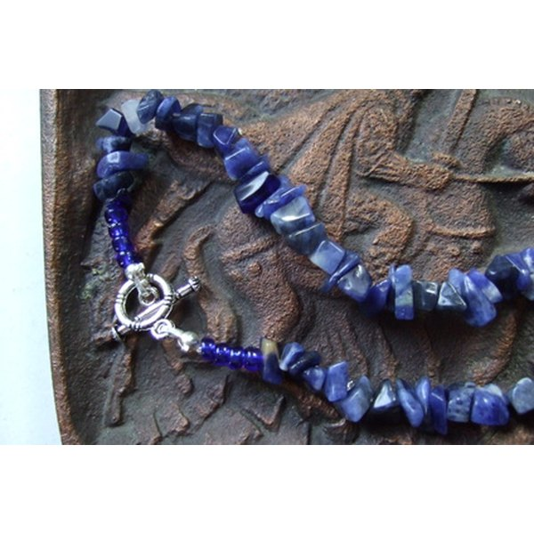 Lapis lazuli consists of several different minerals.
