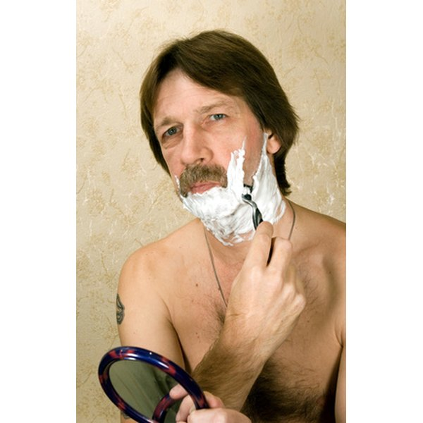 Shaving has come a long way since the 1800s.