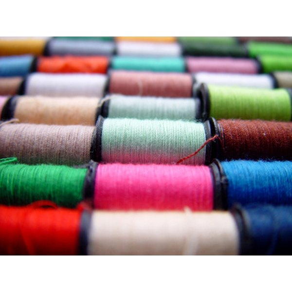 A standard poly-cotton fabric blend is 65 percent polyester.
