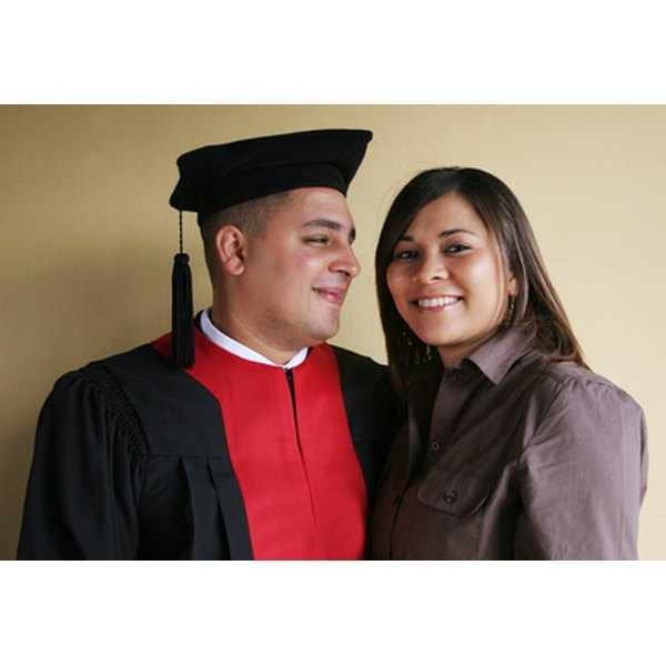 Acknowledge your husband's graduation with a unique gift.