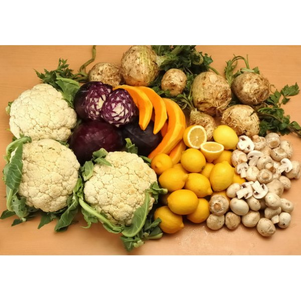 A wide selection of fruits and vegetables are essential to produce brown fat.
